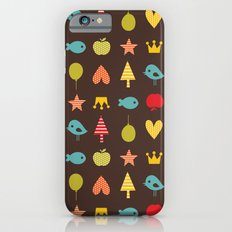 Happy pattern iPhone 6s Slim Case