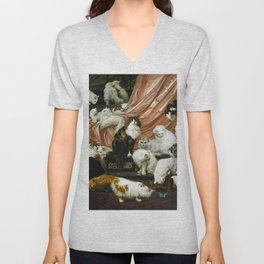 "Carl Kahler ""My Wife's Lovers"" Unisex V-Neck"