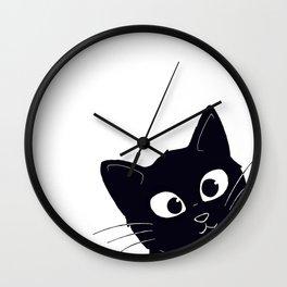 Kitty! Wall Clock