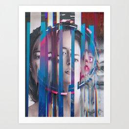 DAUGHTERS OF NYX #11 Art Print