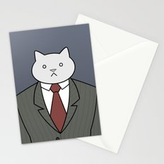 Business Cat Stationery Cards