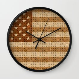 The Stars and Stripes #1 Wall Clock