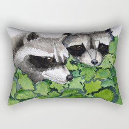 Masked Bandits Rectangular Pillow