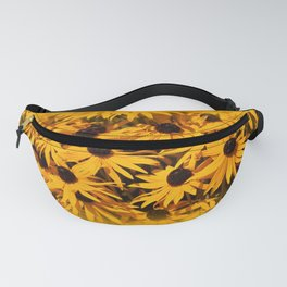 A Bed of Bloomin' Rudbeckias Fanny Pack