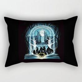Magic Ring Rectangular Pillow