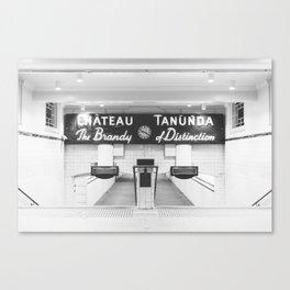 Chateau Tanunda Subway Station Sydney   Print Canvas Print