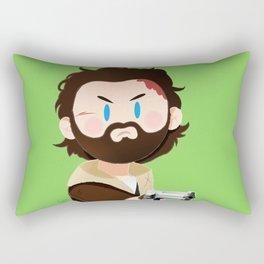 Little Warriors: Rick Rectangular Pillow