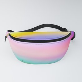 Rainbow soft lines. Fanny Pack
