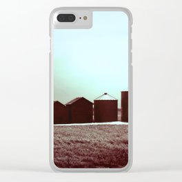 Silent Silos Clear iPhone Case