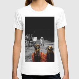 Rgaya and Sabeecha go to the moon T-shirt
