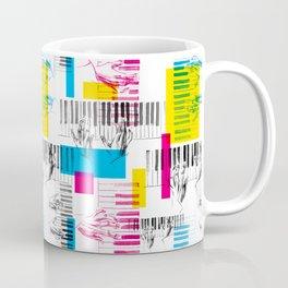 A piano pattern Coffee Mug