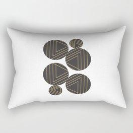 Abstract Geometry #society6 #decor #buyart Rectangular Pillow