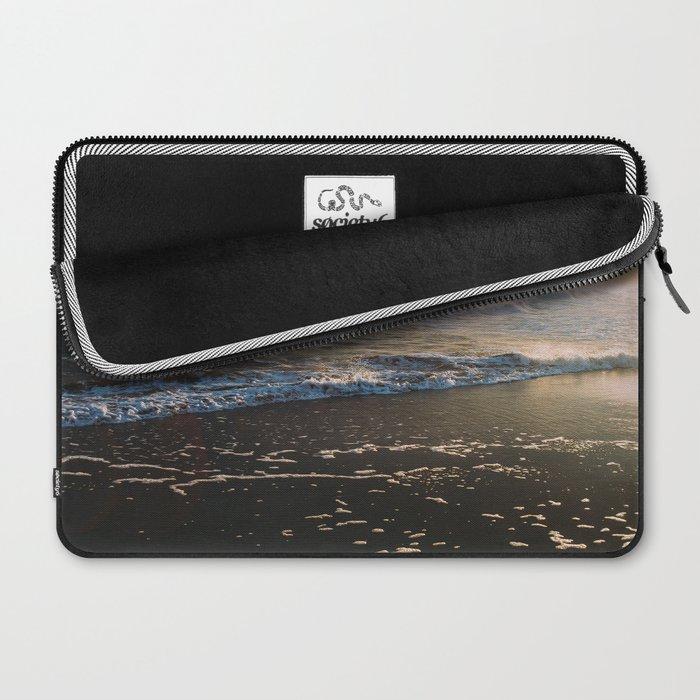 Misty Ocean #sunset Laptop Sleeve