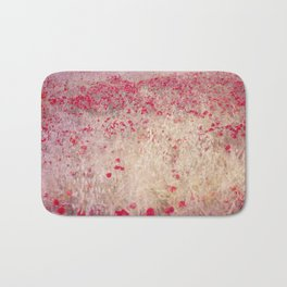 Fields of poppies Bath Mat