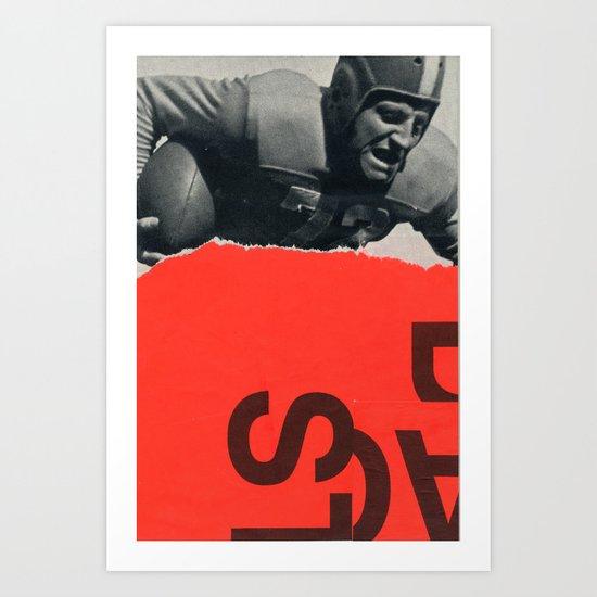 offense Art Print