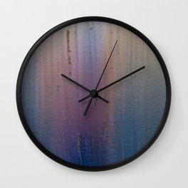 Metal rainbow Wall Clock