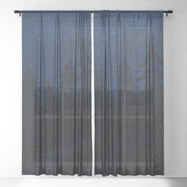 Under Canvas Sheer Curtain