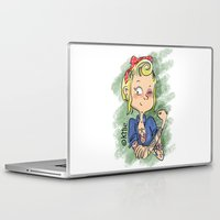 rockabilly Laptop & iPad Skins featuring Rockabilly by KMie.