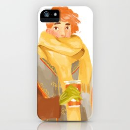 Giant Scarf Jehan iPhone Case