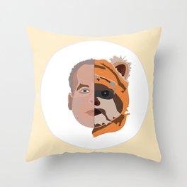 EWOK / Warwick Davis Throw Pillow