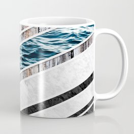 Striped Materials of Nature I Coffee Mug