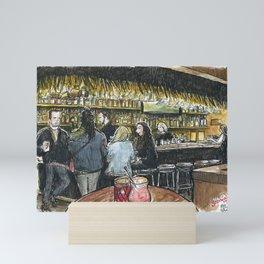 Sophia's Bar, Davis (2018) Mini Art Print