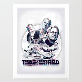 TINKER HATFIELD: DESIGN HEROES Art Print