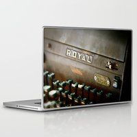 writer Laptop & iPad Skins featuring Writer  by Rick Staggs