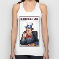 better call saul Tank Tops featuring Better Call Saul by Magdalena Almero