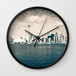 Toronto Skyline Wall Clock