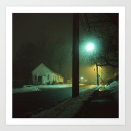 Pikesville, MD Art Print