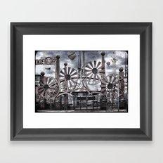 Luna Park Framed Art Print