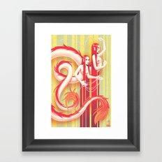 Tweedles Framed Art Print