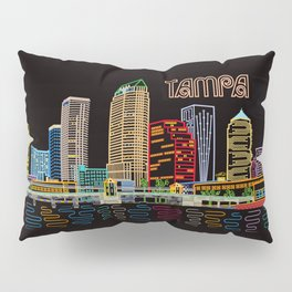Tampa Circuit Pillow Sham