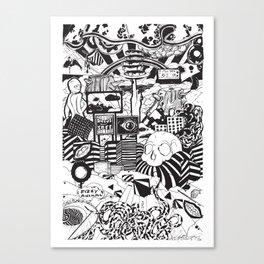 Doughnut City Canvas Print