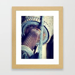 Drive Shaft Framed Art Print