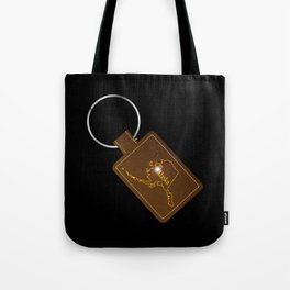 Alaska Leather Key Fob Tote Bag
