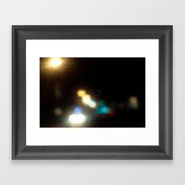 Rearview Framed Art Print
