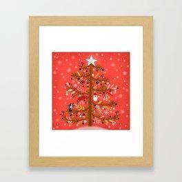 OH CHRISTMAS TREE Framed Art Print