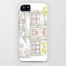 Green Craftsman iPhone Case