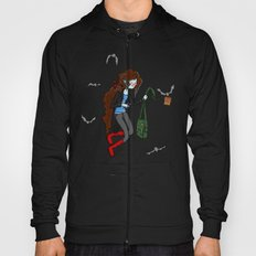 Vampire Artist (in semi-Adventure Time style) Hoody