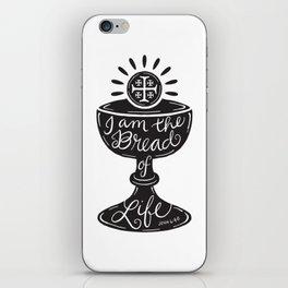 Catholic Communion Bread of Life iPhone Skin