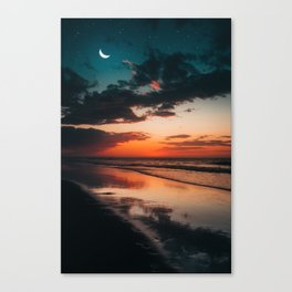 Between two worlds. Canvas Print