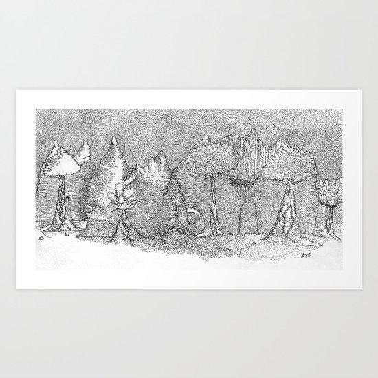 Star Night  Art Print