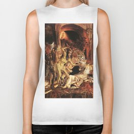 Demons attack!! Biker Tank