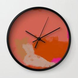Double soul one body Wall Clock