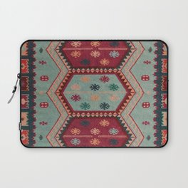 V31 Traditional Colored Moroccan Carpet. Laptop Sleeve
