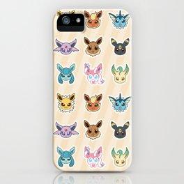 Colorful Pockt Friends iPhone Case