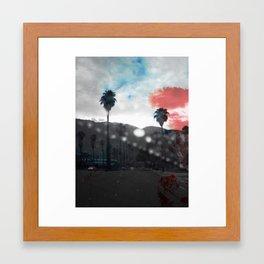 ROSSO/BLU in L.A. Framed Art Print