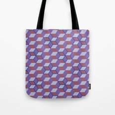 Cubes and stars Tote Bag
